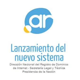 NIC Argentina esta mes (Agosto 2013 ) presentó su nuevo sistema para ...